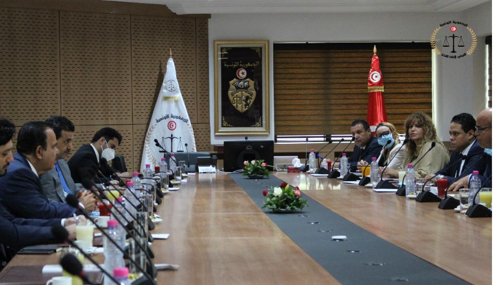 لقاء مع النائب العام لدولة قطر