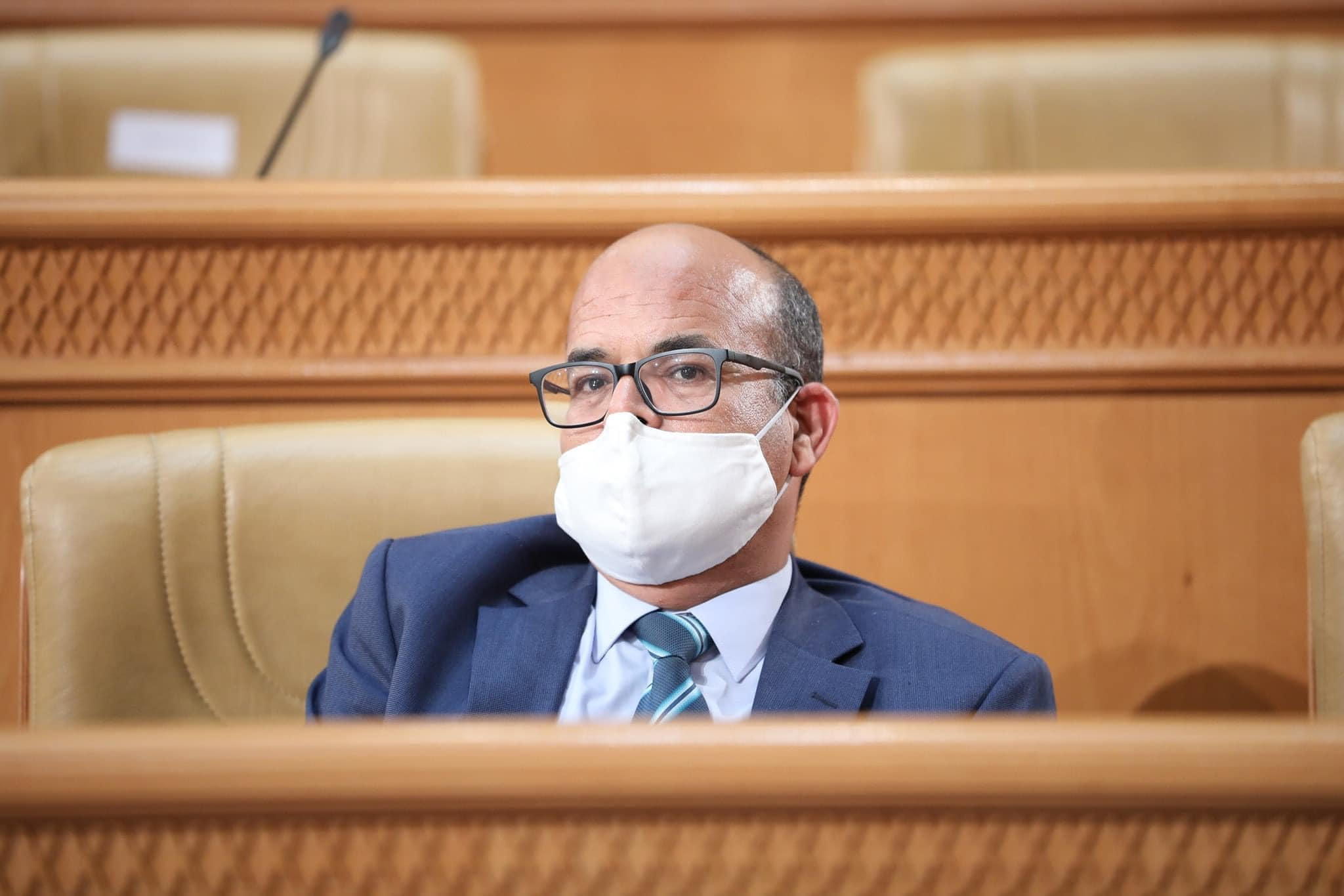 رد رئيس المجلس الأعلى للقضاء على أسئلة النواب