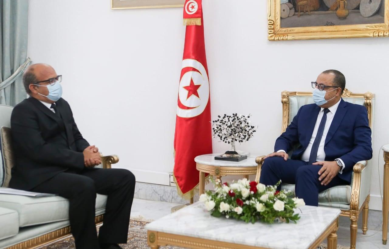لقاء بين  رئيس المجلس و رئيس الحكومة