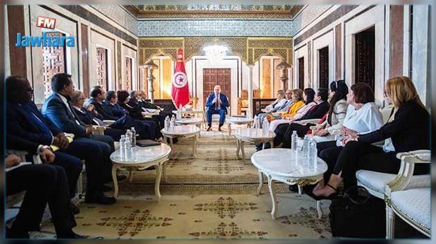 لدى استقباله رئيس وأعضاء من المجلس:  رئيس الحكومة يؤكّد على أهمية مرفق العدالة وضرورة دعمه