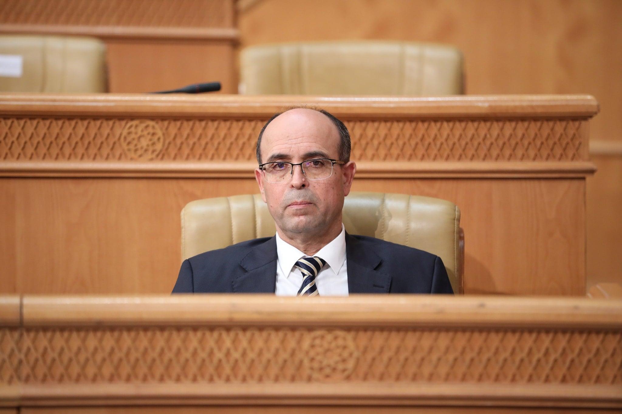 إجابة رئيس مجلس القضاء المالي في البرلمان